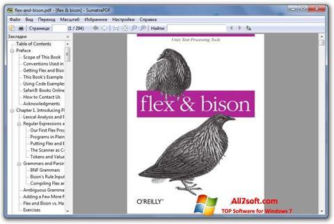 ภาพหน้าจอ Sumatra PDF สำหรับ Windows 7