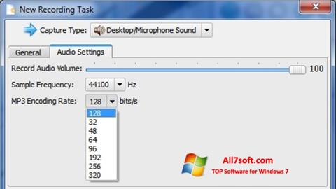 ภาพหน้าจอ SMRecorder สำหรับ Windows 7