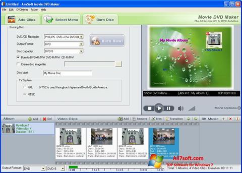 ภาพหน้าจอ DVD Maker สำหรับ Windows 7