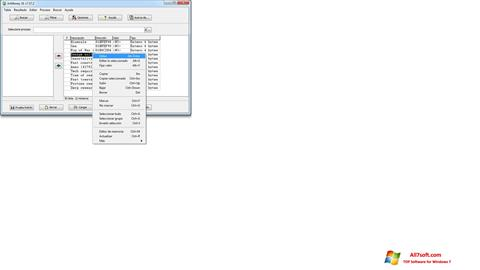 ภาพหน้าจอ ArtMoney Pro สำหรับ Windows 7