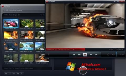 ภาพหน้าจอ Action! สำหรับ Windows 7
