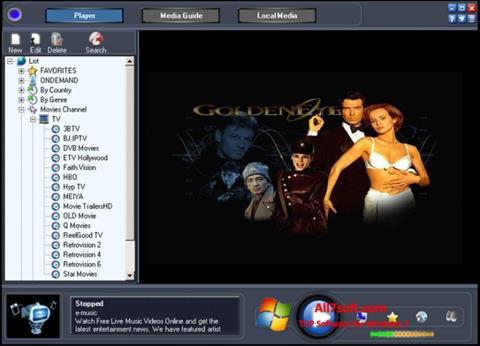 ภาพหน้าจอ Online TV Live สำหรับ Windows 7