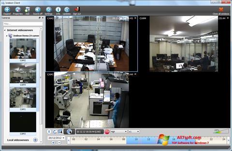 ภาพหน้าจอ Ivideon Server สำหรับ Windows 7