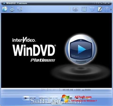 ภาพหน้าจอ WinDVD สำหรับ Windows 7
