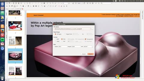 ภาพหน้าจอ Master PDF Editor สำหรับ Windows 7