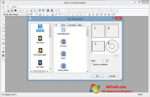 ภาพหน้าจอ Nero Cover Designer สำหรับ Windows 7