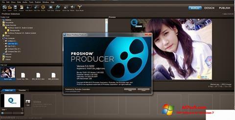 ภาพหน้าจอ ProShow Producer สำหรับ Windows 7