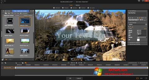ภาพหน้าจอ Pinnacle Studio สำหรับ Windows 7