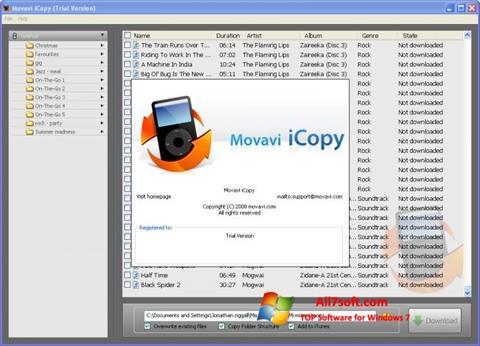 ภาพหน้าจอ iCopy สำหรับ Windows 7