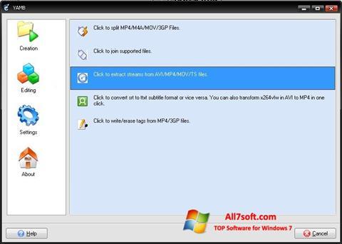 ภาพหน้าจอ Yamb สำหรับ Windows 7