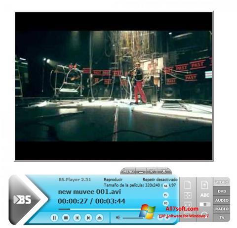 ภาพหน้าจอ BSPlayer สำหรับ Windows 7