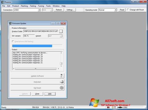 ภาพหน้าจอ Phoenix สำหรับ Windows 7