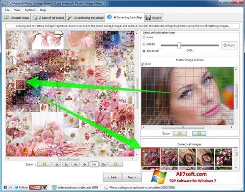 ภาพหน้าจอ Photo Collage สำหรับ Windows 7
