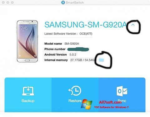 ดาวน์โหลด Samsung Smart Switch สำหรับ Windows 7 (32/64 bit