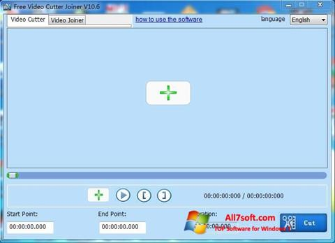 ภาพหน้าจอ Free Video Cutter สำหรับ Windows 7